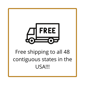 Free shipping to 48 contiguous states in USA