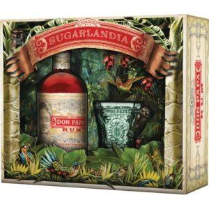 Rum Don Papa 7 Yo Limited Edition Sugarlandia + Bicchiere Degustazione