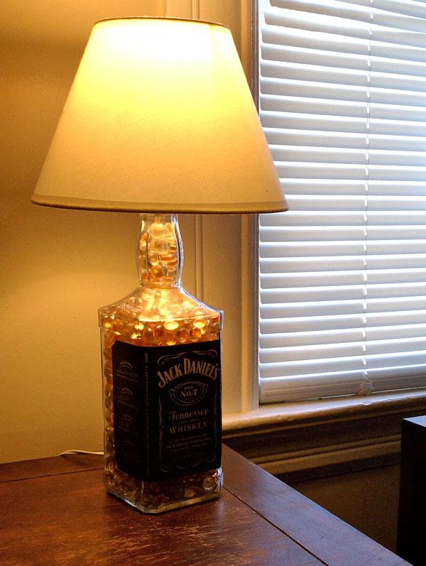 Great Jack Daniels Bottle Lamp By Sutton