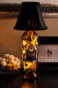 From Bottles to Lamps | How To Make A Bottle Lamp