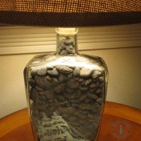 How To Make A Bottle Lamp Steps | How To Make A Bottle Lamp