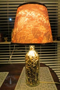 How To Make A Mossy Oak Bottle Lamp