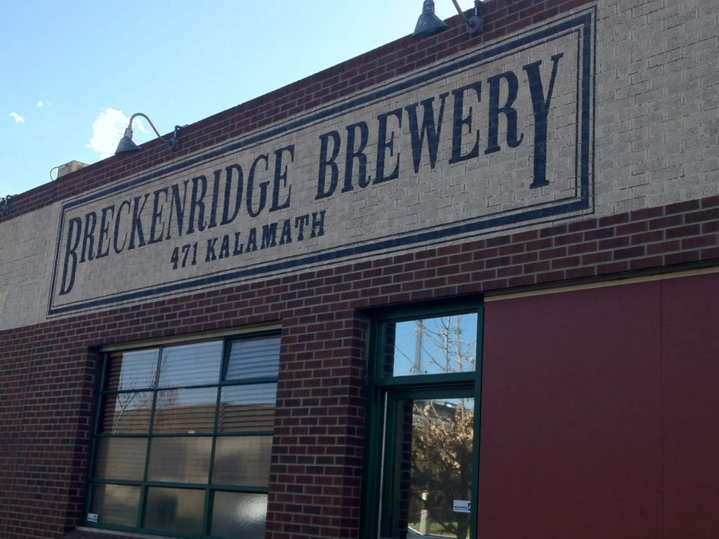 Breckenridge Brewery and Taproom, Denver.