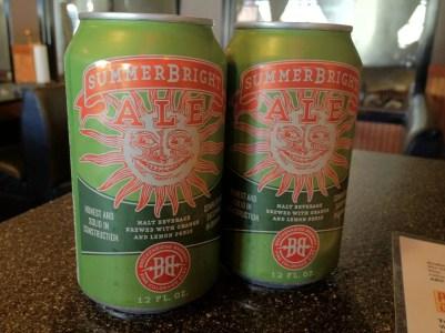Breckenridge Brewery's summer seasonal, SummerBright Ale