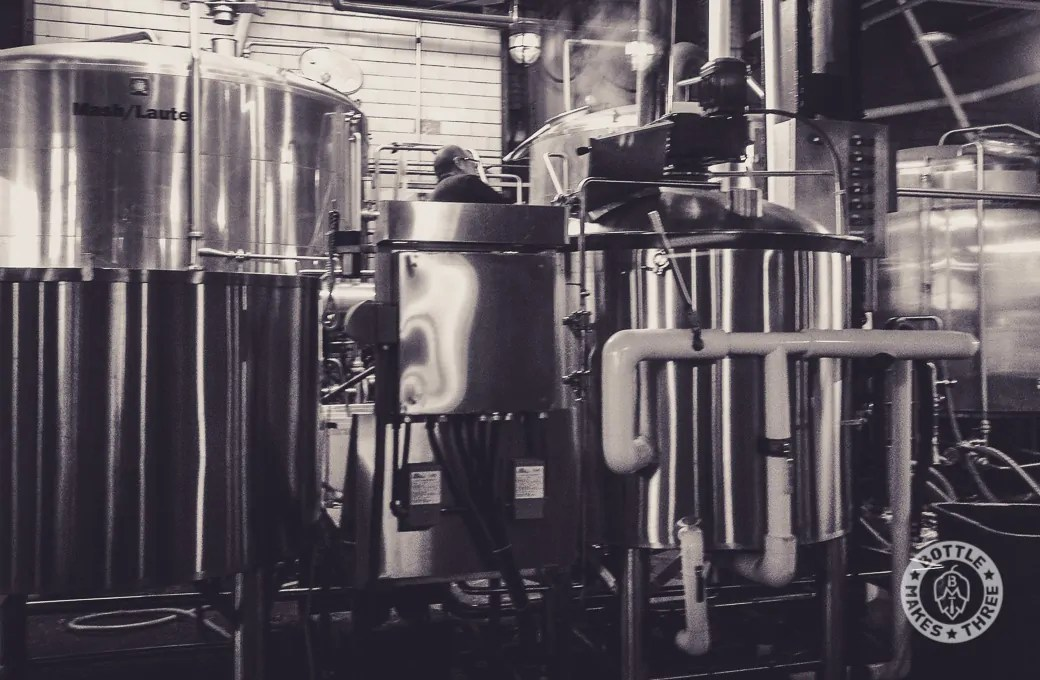 Sunday is brew day at Great Divide Brewing Company, Denver.