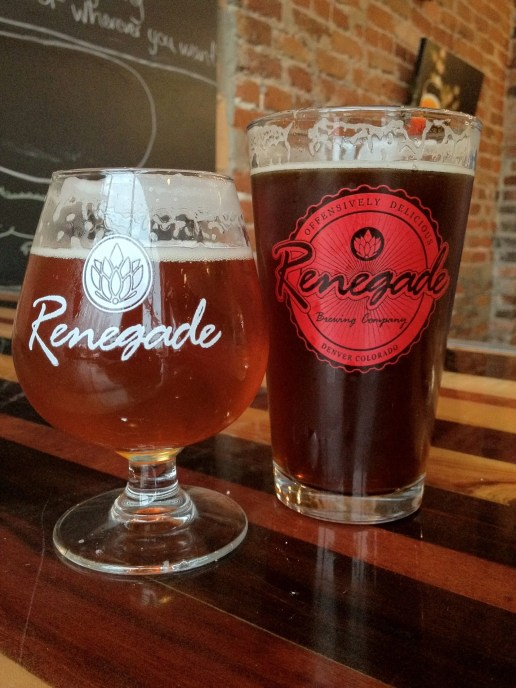 Renegade Elevation Triple IPA and Red I