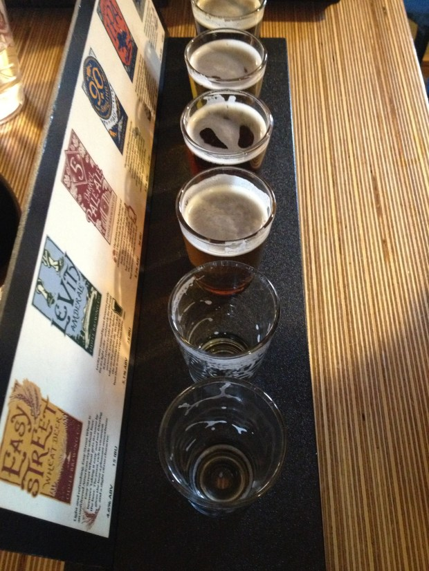 Odell Tasting Flight