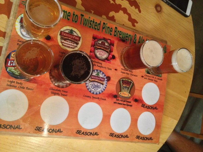 Our mini sampler left so many other great Twisted Pine beers to try!