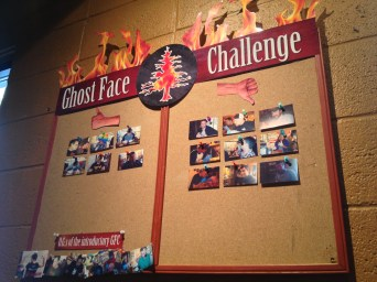 Ghost Face Challenge at Twisted Pine Brewery