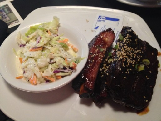 Fate Brewing Sticky Ribs