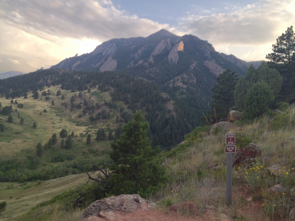 Boulder Sunset Hike