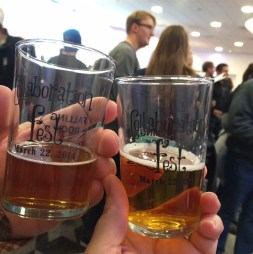Cheers with Centennial Pale Ale