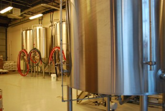 Comrade Brewing Company's brewing system