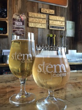 Malice and Le Chene at Stem Ciders