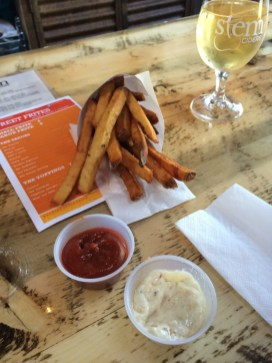 OMG, these FRITES!