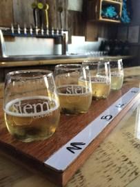 Stem Ciders sampler