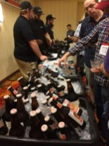 Delicious beer options during BBC14 lunch