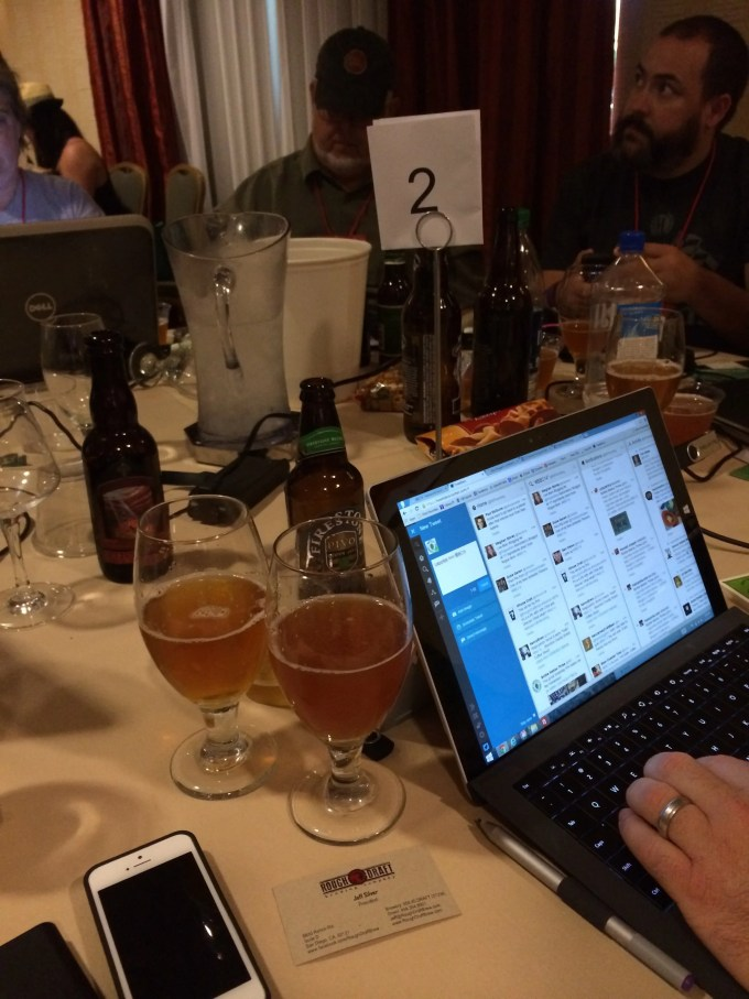 Live beer blogging, I think I will miss you most of all.