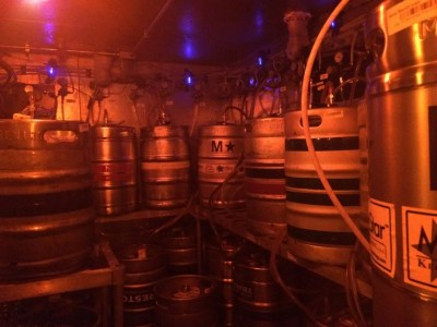 Inside the keg room at Yardhouse