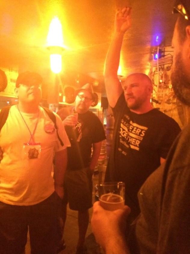 Tour of the keg room (BRRR!)