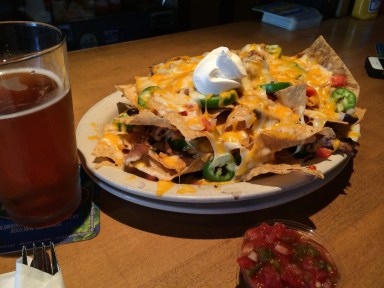 Those nachos!