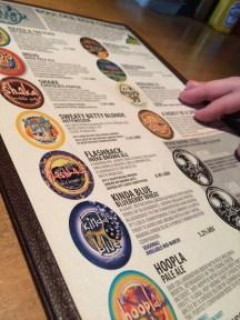 Boulder Beer Co menu