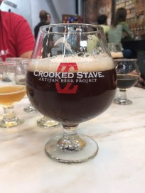 Mama Bear's Sour Cherry Pie, a delicious Burgundy Sour Ale from Crooked Stave | BottleMakesThree.com