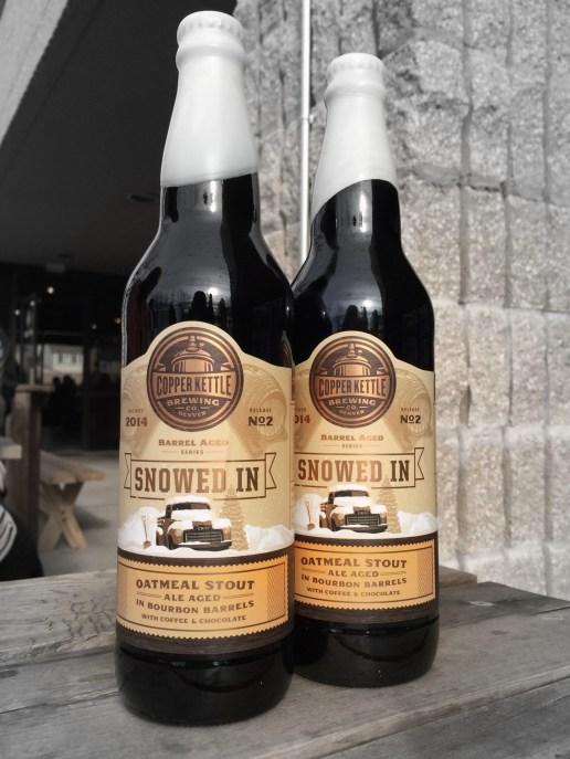 Best Colorado Beer Gifts: Seasonal Beers! Like SNOWED IN by Copper Kettle Brewing Co | Bottlemakesthree.com