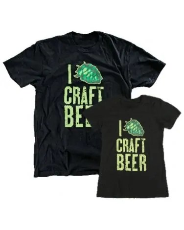 Great Beer Gifts: I Hop Craft Beer Shirt | Bottlemakesthree.com
