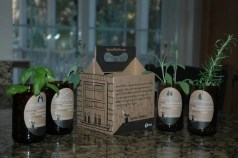 Great Beer Gifts: Sprouts 4 Pack Herb Kit | Bottlemakesthree.com