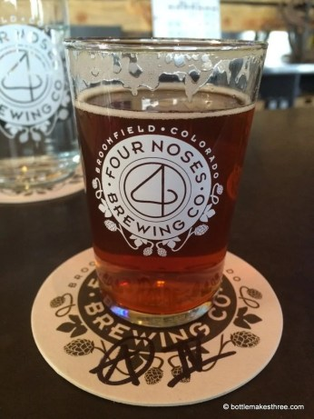 Four Noses Brewing Co, Broomfield CO | bottlemakesthree.com
