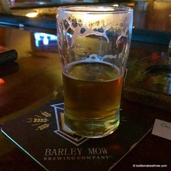Barley Mow Brewing Co, Largo FL | BottleMakesThree.com