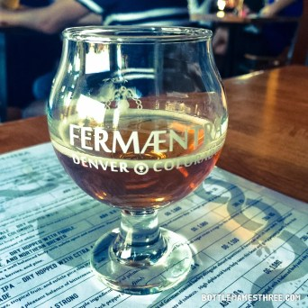 Fermaentra Brewing and Tap Room, Denver CO | BottleMakesThree.com