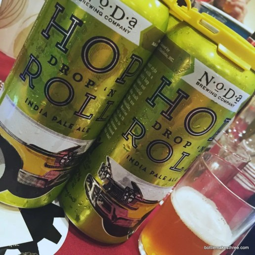 NoDa Brewing Co Hop Drop and Roll IPA