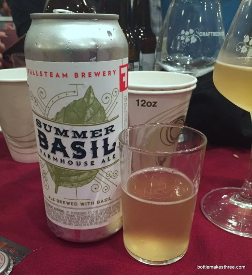Fullsteam Brewery Summer Basil Farmhouse Ale