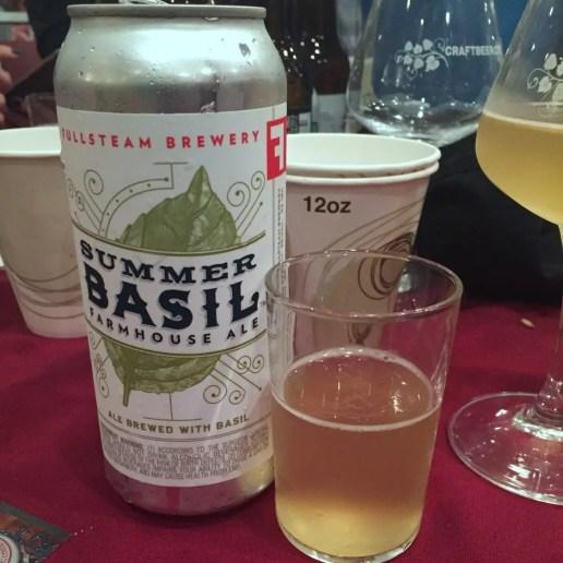 Fullsteam Brewery Summer Basil Farmhouse Ale