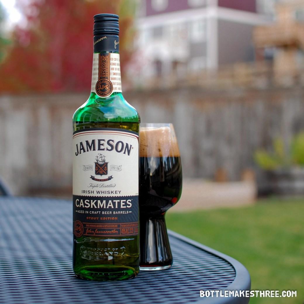 Jameson Caskmates, When Whiskey Meets Stout | BottleMakesThree.com