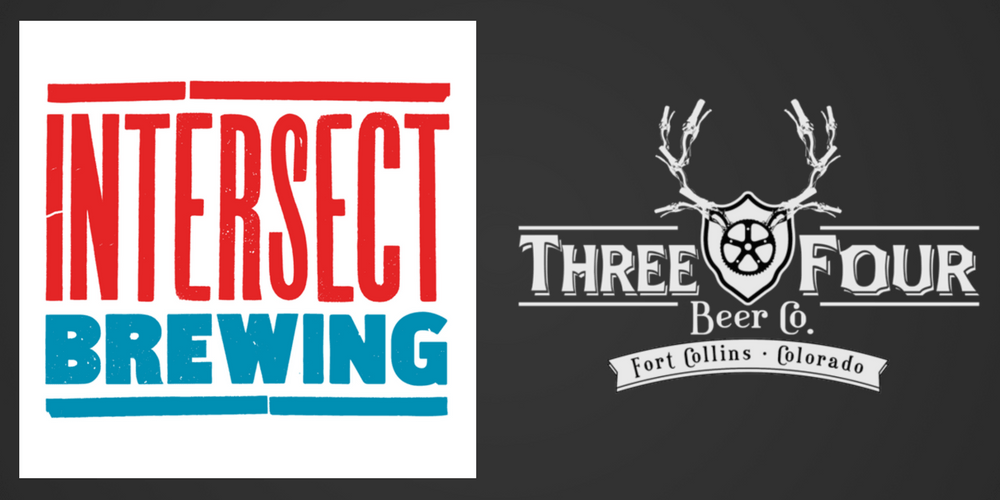 New Fort Collins Breweries! Intersect Brewing is now open, and Three Four Beer Co is now serving their own beers. Check them out! | BottleMakesThree.com