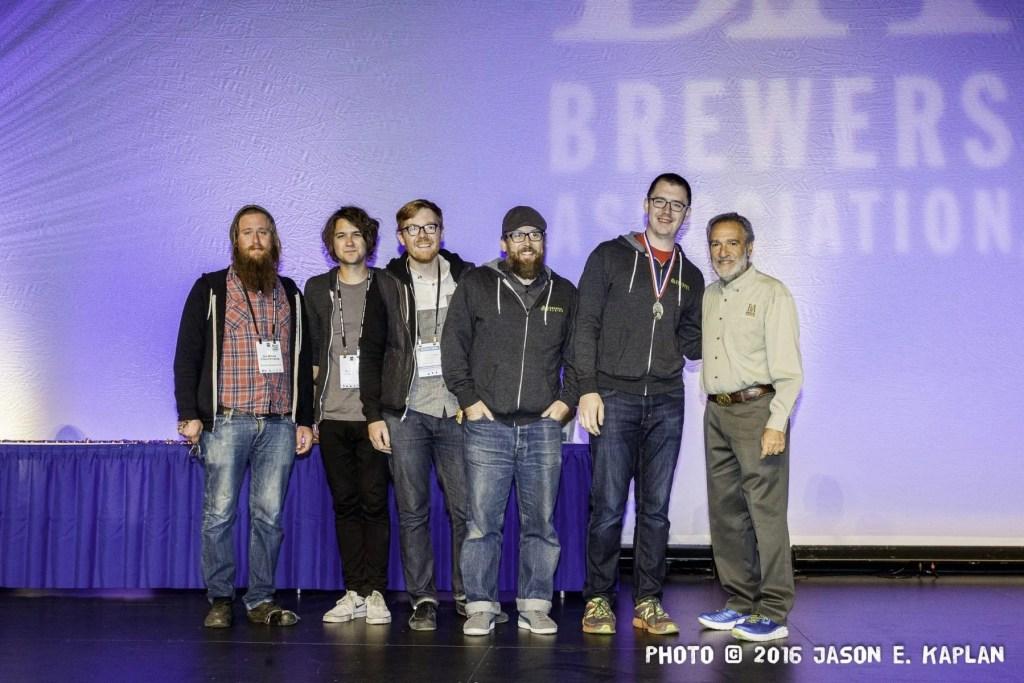 2016 GABF competition winner, Cerebral Brewing