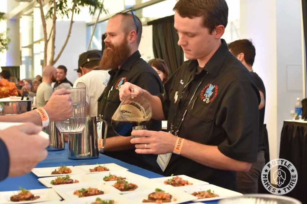 Paired, the beer and food pairing event within GABF. Amazing food, incredible beer. | BottleMakesThree.com
