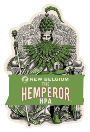 A look at New Belgium Brewing's latest release, The Hemperor HPA.