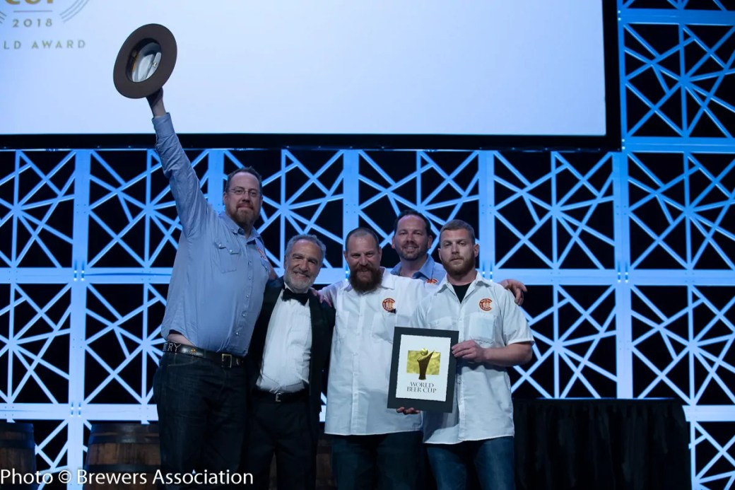 Bull & Bush receive gold at the 2018 World Beer Cup for their Big Ben Brown Ale