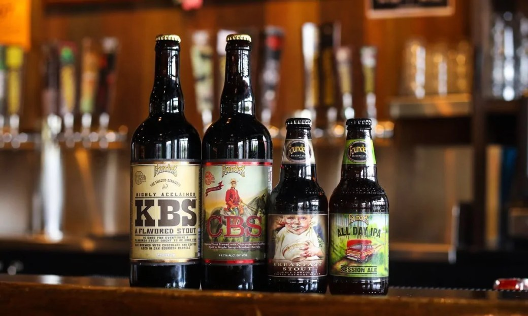 Founders Brewing is now available in Colorado. At last, we can stop smuggling Breakfast Stout back in our suitcase!    BottleMakesThree.com