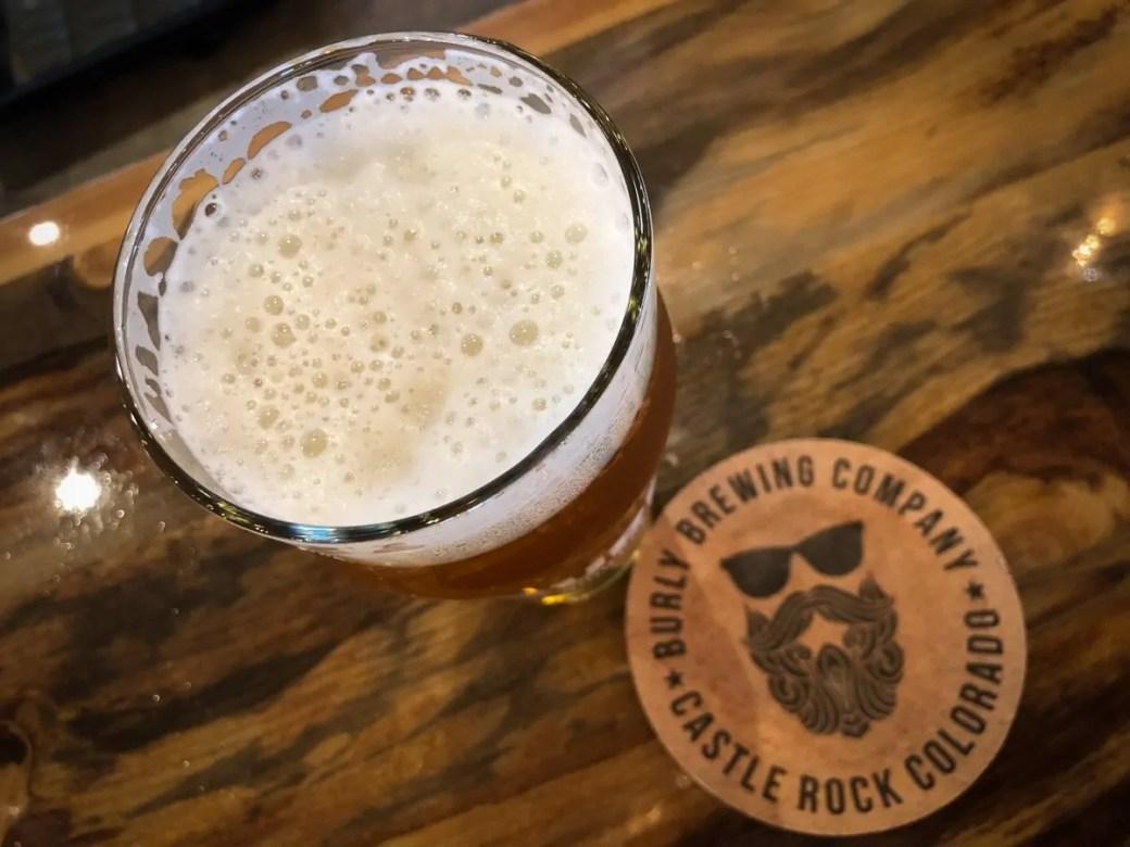 BURLY Brewing Company, a craft brewery in Castle Rock, Colorado
