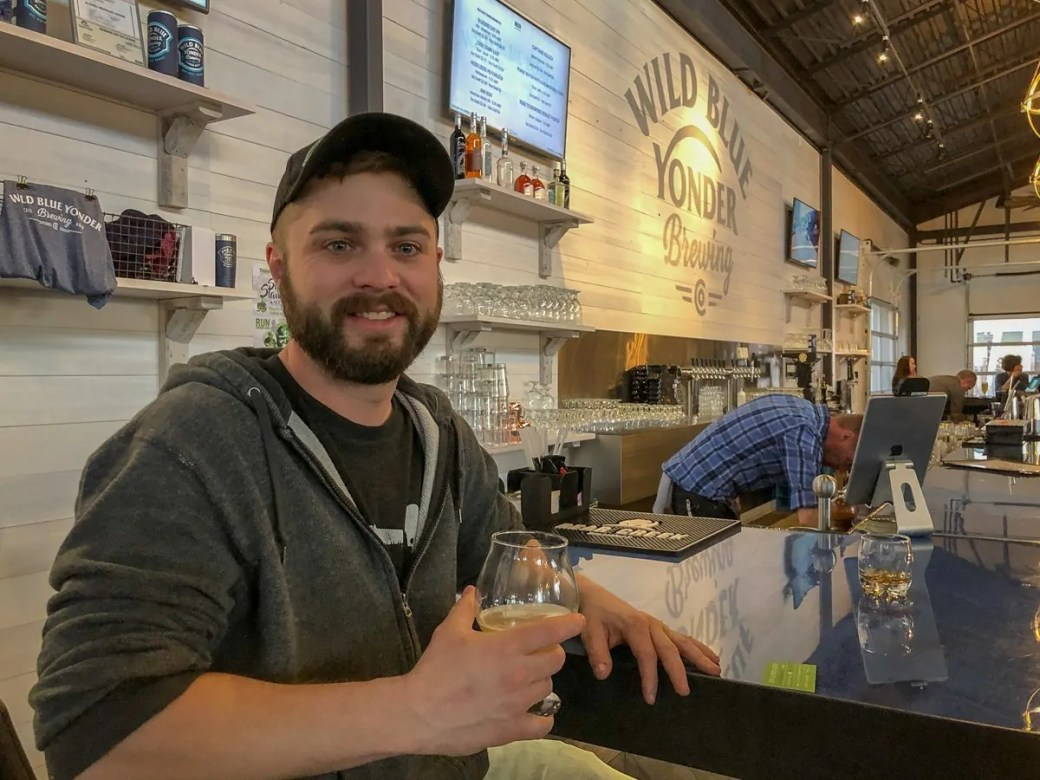 Wild Blue Yonder Head Brewer, Robert Connelly