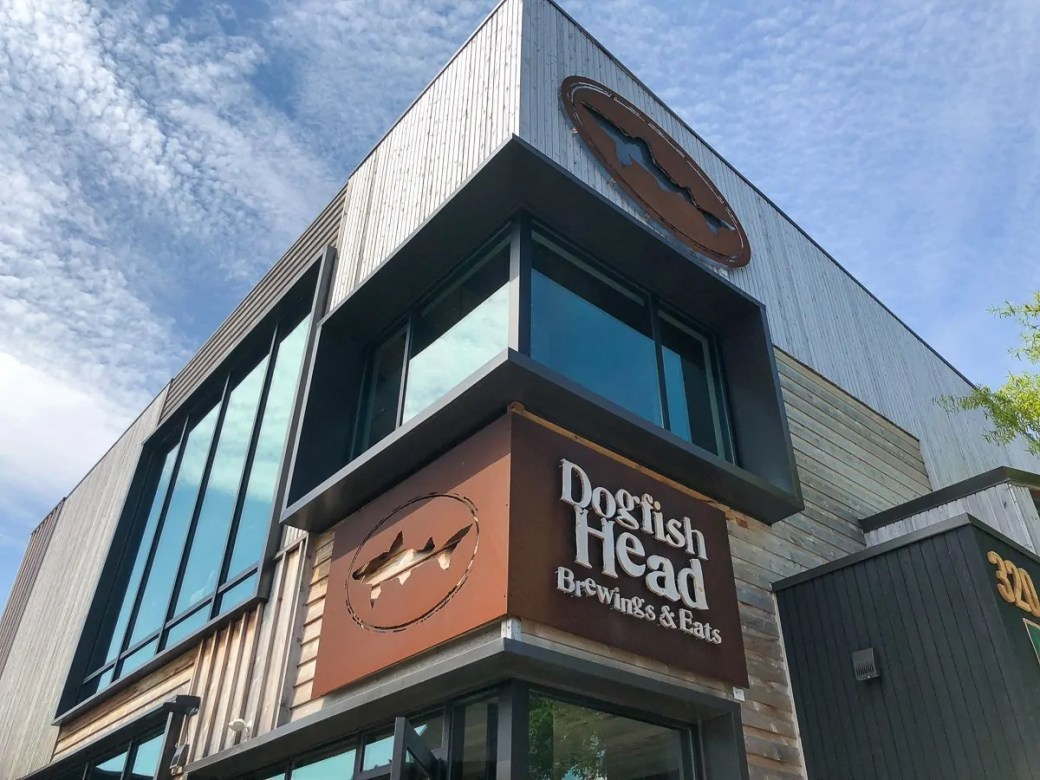 Dogfish Head Brewing & Eats in Rehoboth Beach, Delaware. Great food, beer and spirits!