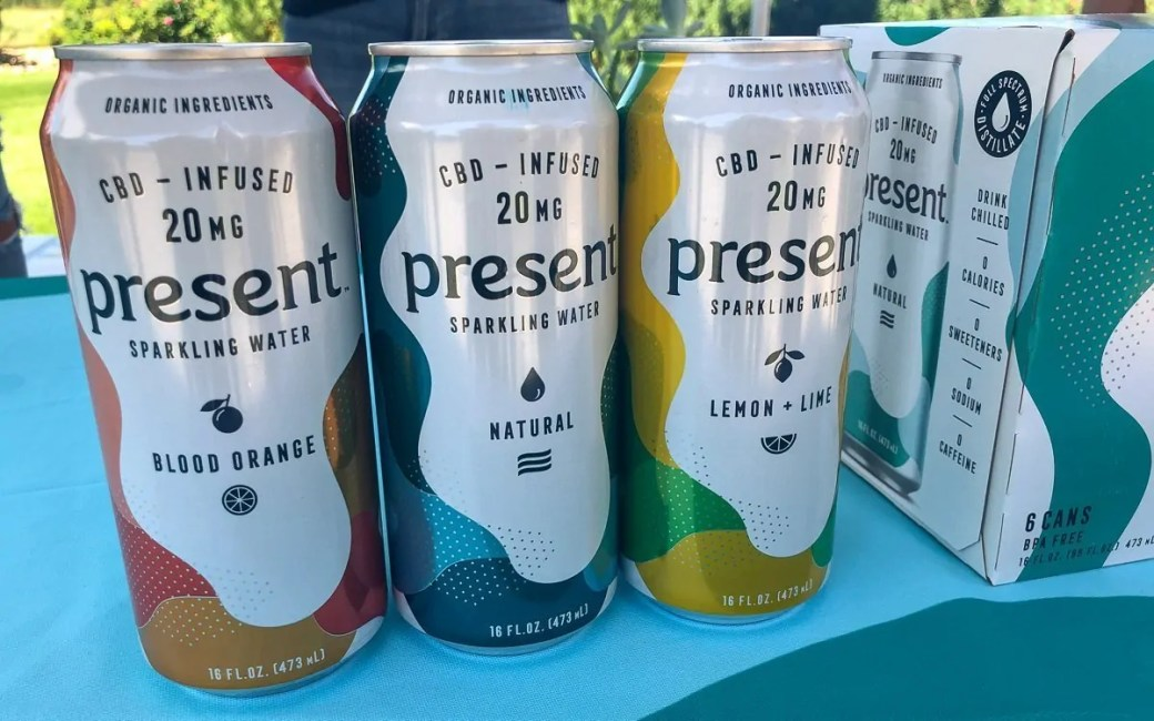 Present CBD-Infused Sparkling Water. Available now in three flavors at DrinkPresent.com