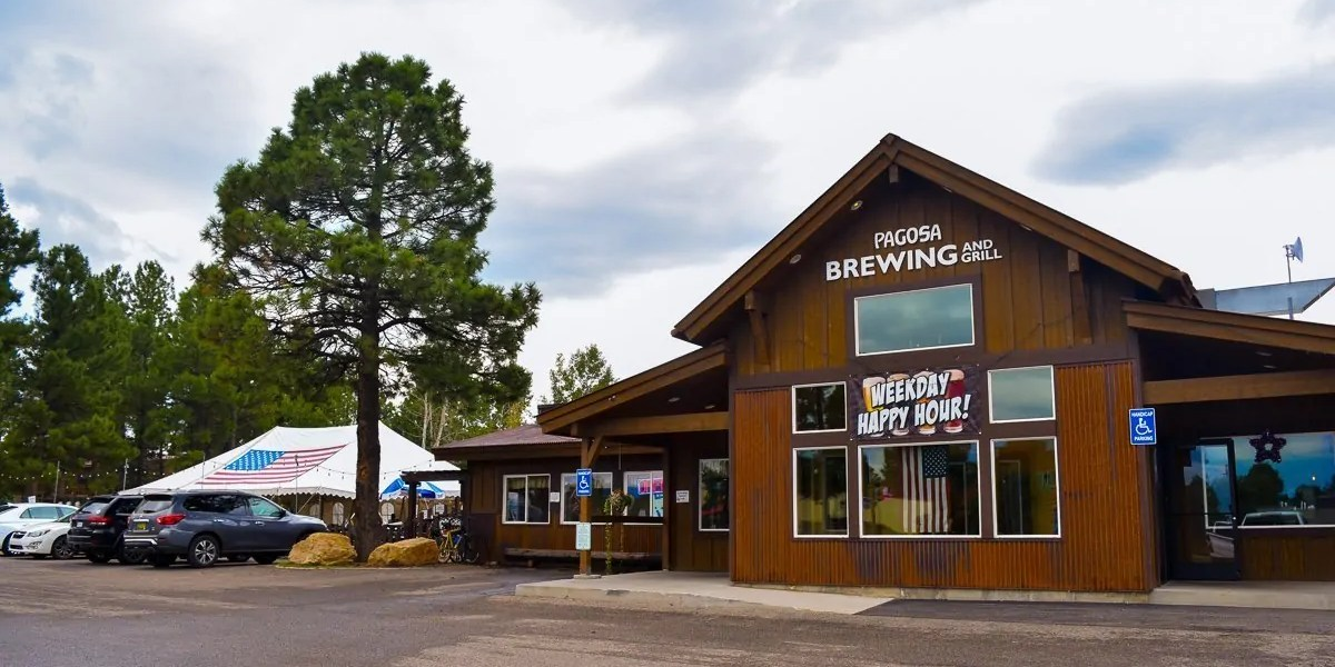 Pagosa Brewing Company & Grill, a brewpub in Pagosa Springs, Colorado