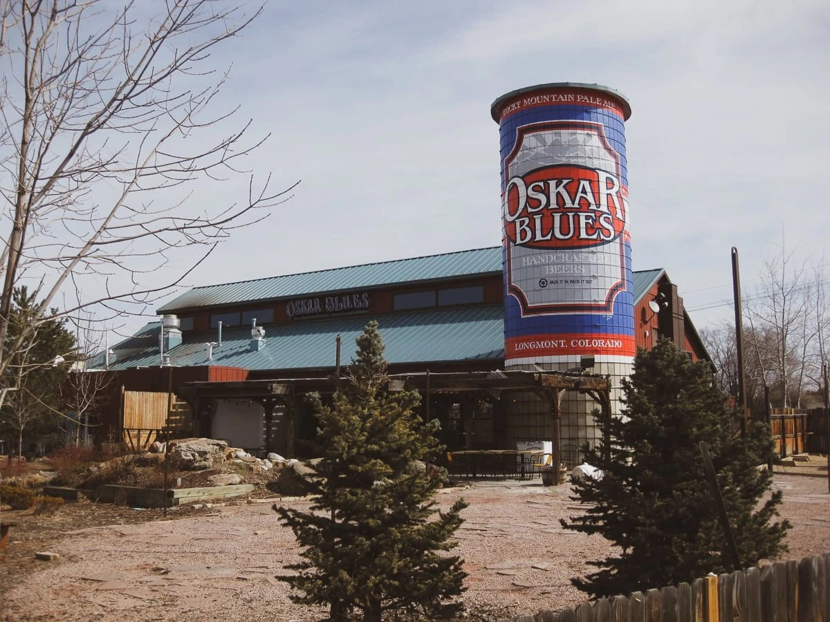 Oskar Blues Home Made Liquids and Solids restaurant, Longmont, Colorado