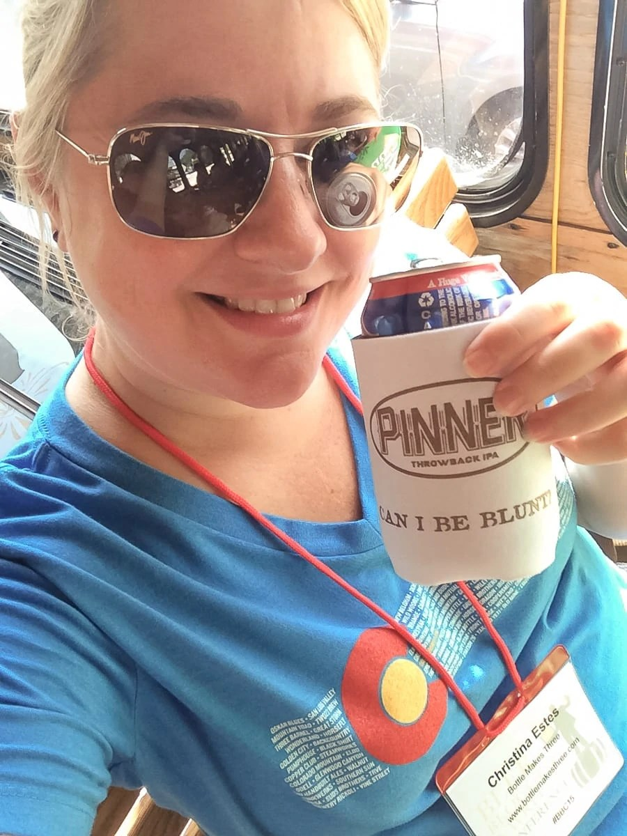 Drinking a Pinner IPA by Oskar Blues